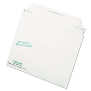 Quality Park™ Antistatic Fiberboard Disk CD/DVD Mailer