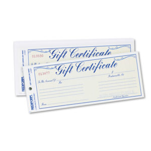 Rediform® Gift Certificates with Envelopes