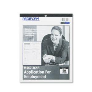 Rediform® Employee Application