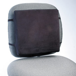 Rubbermaid® Commercial Back Perch™ Backrest with Fleece Cover