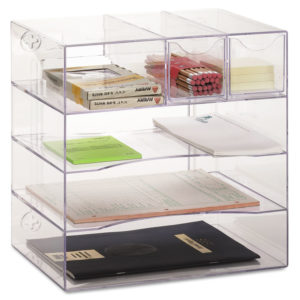 Rubbermaid® Optimizers™ Multifunctional Four-Way Organizer with Drawers