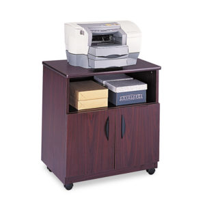 Safco® Mobile Laminate Machine Stand With Open Compartment