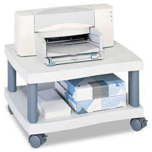 Safco® Wave Design Printer Stand