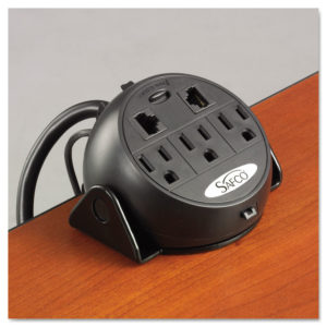 Safco® Three-Outlet Power Module