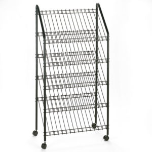 Safco® Mobile Literature Rack