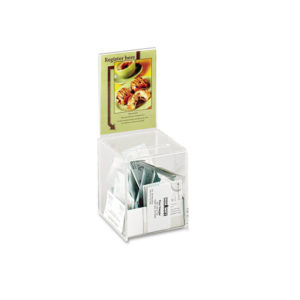 Safco® Small Acrylic Collection Box