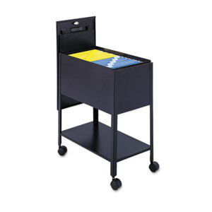 Safco® Extra-Deep Locking Mobile Tub File