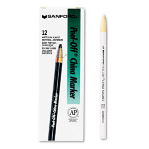 Sharpie® Peel-Off™ China Markers