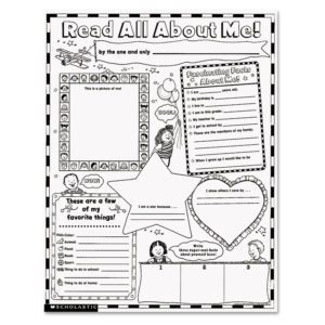 Scholastic Instant Personal Poster Sets