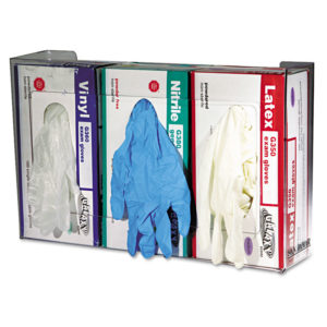 San Jamar® Clear Plexiglas® Disposable Glove Dispenser