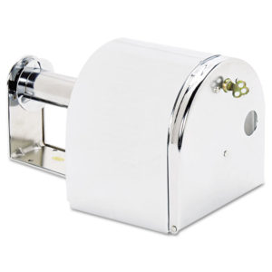 San Jamar® Covered Reserve Roll Toilet Dispenser