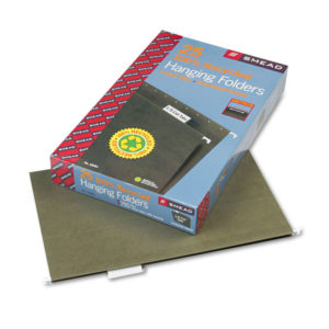 Smead® 100% Recycled Hanging File Folders