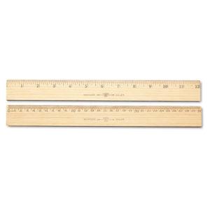 "Westcott® Budget 12"" Metric Ruler"
