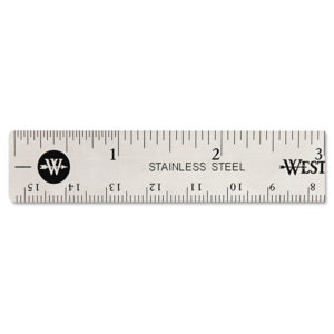 Westcott® Stainless Steel Ruler