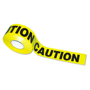 "Tatco ""Caution"" Barricade Safety Tape"