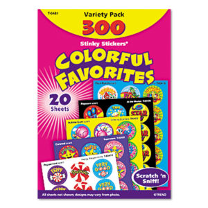TREND® Stinky Stickers® Variety Pack