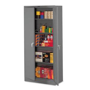"""Tennsco 78"""" High Deluxe Steel Storage Cabinet"""