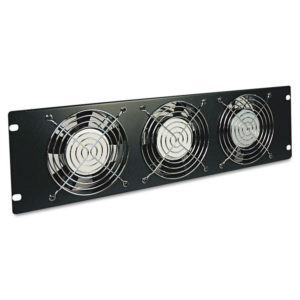 Tripp Lite 3-Fan 3-Unit Fan Panel
