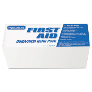 PhysiciansCare® by First Aid Only® OSHA First Aid Refill Pack