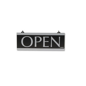 Headline® Sign Century Series Reversible Open/Closed Sign