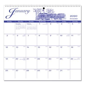 AT-A-GLANCE® 12-Month Illustrator's Edition Wall Calendar
