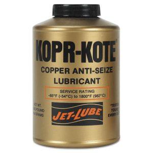 Jet-Lube® Kopr-Kote® High Temperature Anti-Seize & Gasket Compounds 10004
