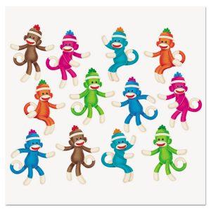 TREND® Sock Monkeys Classic Accents® & Bulletin Board Sets