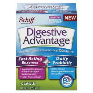 Digestive Advantage® Fast Acting Enzyme plus Daily Probiotic Capsule