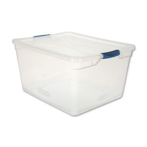 Rubbermaid® Clever Store Basic Latch-Lid Container