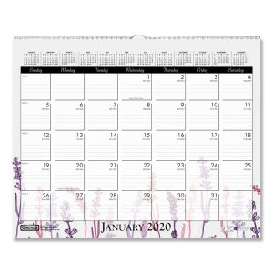 House of Doolittle™ 100% Recycled Wild Flower Wall Calendar