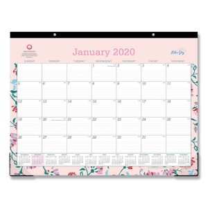Blue Sky™ Breast Cancer Awareness Desk Pad