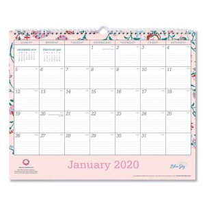 Blue Sky™ Breast Cancer Awareness Wall Calendar