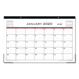 Blue Sky™ Classic Red Desk Pad