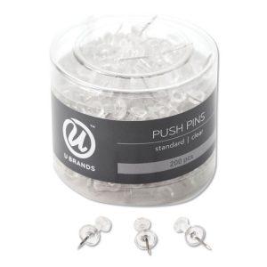 U Brands Standard Push Pins