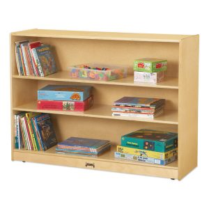 Jonti-Craft Adjustable Mobile Straight-Shelves