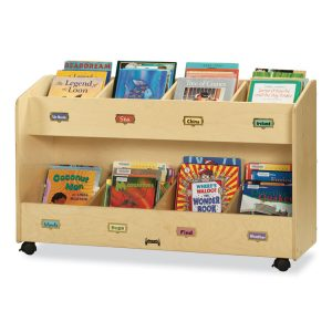 Jonti-Craft Mobile Section Book Organizers