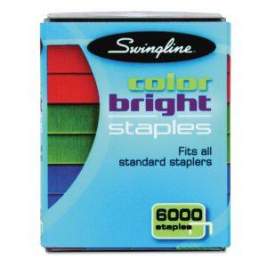 Swingline® Color Bright Staples