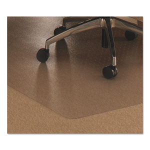 Floortex® Cleartex® Ultimat® Polycarbonate Chair Mat for Low/Medium Pile Carpets