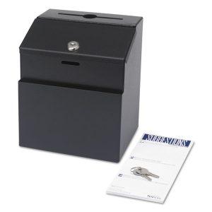 Safco® Steel Suggestion/Key Drop Box