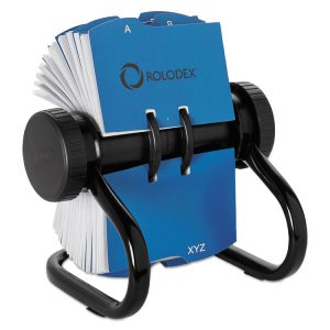 Rolodex™ Open Rotary Business Card File