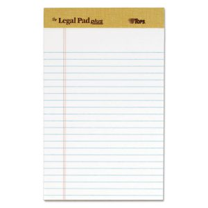 """TOPS™ """"The Legal Pad"""" Ruled Perforated Pads"""