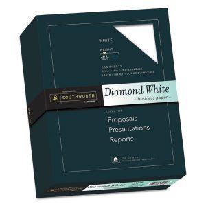 Southworth® 25% Cotton Diamond White® Business Paper