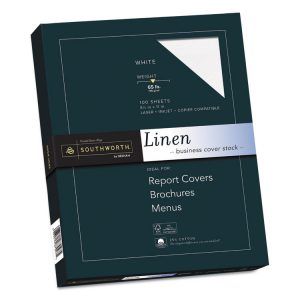 Southworth® 25% Cotton Linen Cover Stock