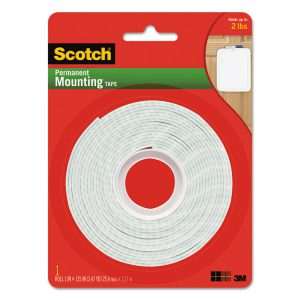 Scotch® Permanent High-Density Foam Mounting Tape