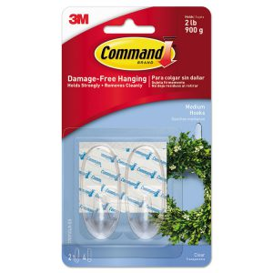 Command™ Clear Hooks and Strips