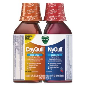 Vicks® DayQuil™/NyQuil™ Cold & Flu Liquid Combo Pack