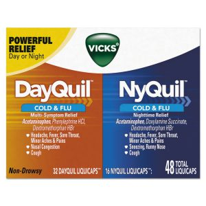 Vicks® DayQuil™/NyQuil™ Cold & Flu LiquiCaps Combo Pack