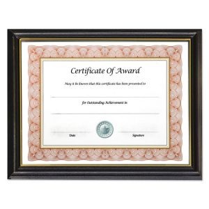 NuDell™ Gold Trim Deluxe Document Frame