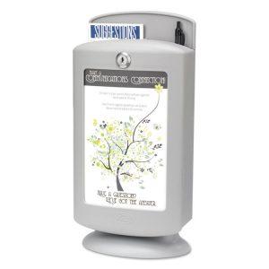 Safco® Customizable Plastic Suggestion Box