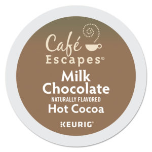 Café Escapes® Milk Chocolate Hot Cocoa K-Cups®
